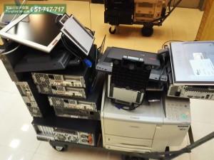 香港商業中心 舊電腦回收 現場