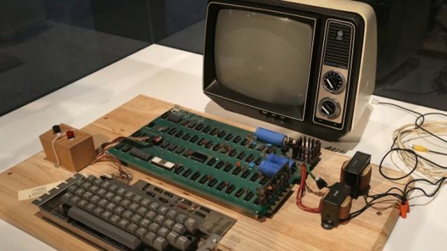 第一代蘋果 舊電腦